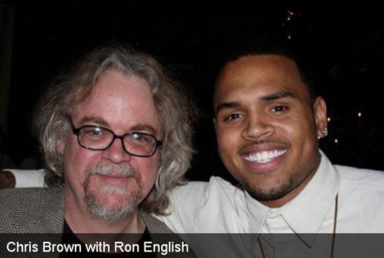 Ron English and Chris Brown