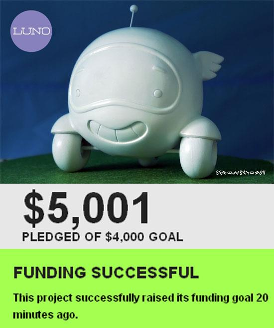 Project Luno on Kickstarter Has Been Funded!
