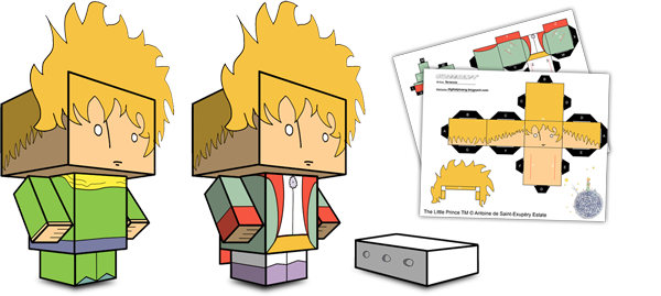 Little Prince Paper Toys