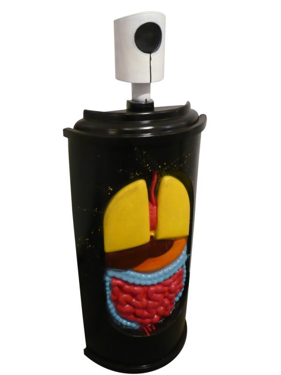 Anatomy Spraycan by Souredj