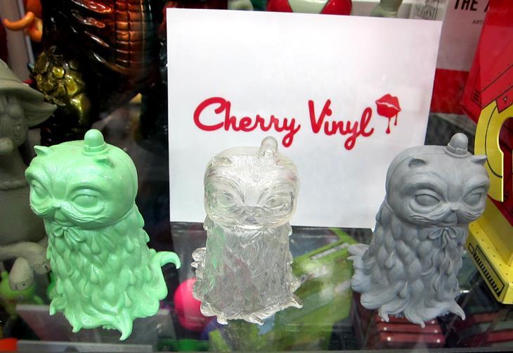 Cherry Vinyl at SDCC 2011