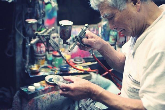 GOTO-san painting UAMOUs