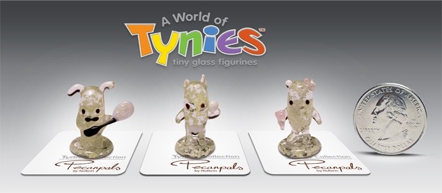 Pecanpals Glass Tynies
