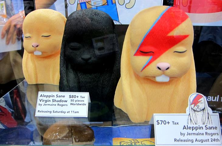 Aleppin Sane Busts by Jermaine Rogers and Plastic City