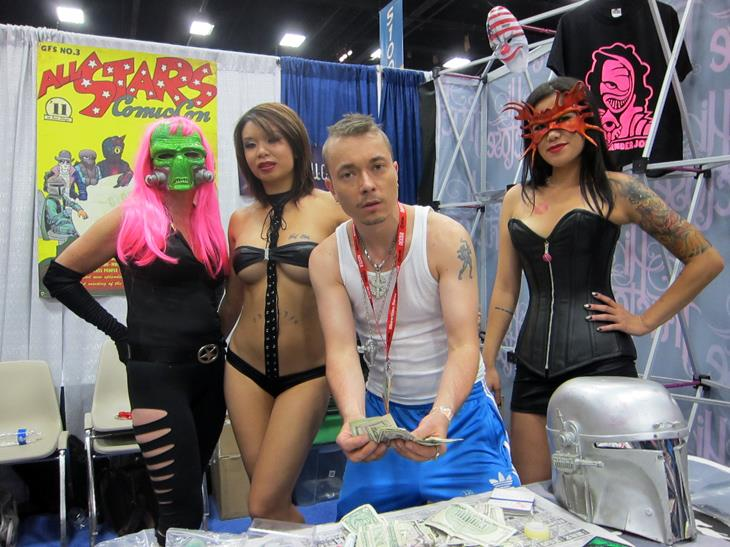 Sucklord at SDCC 2011
