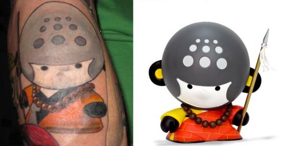 Tattoos inspired by art: House of Liu by Veggiesomething. Tattoo by Wil @ Randy Adams Tattoo Studio (Ft. Worth, Texas). Flesh canvas by Jeff.