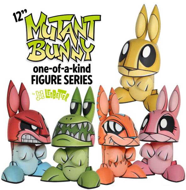 12-inch Mutant Bunnies by Joe Ledbetter
