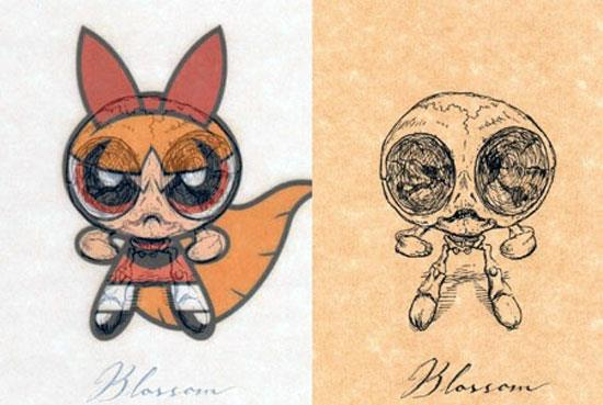Power Puff Girls: Blossom © Michael Paulus