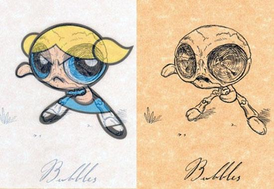 Power Puff Girls: Bubbles © Michael Paulus