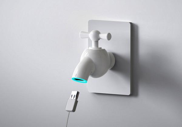 Qi Weijia's USB Charging Tap