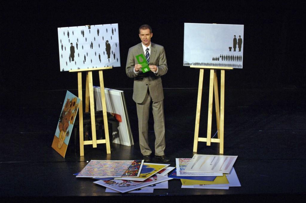 Ursus Wehrli's Tidying Up Magritte