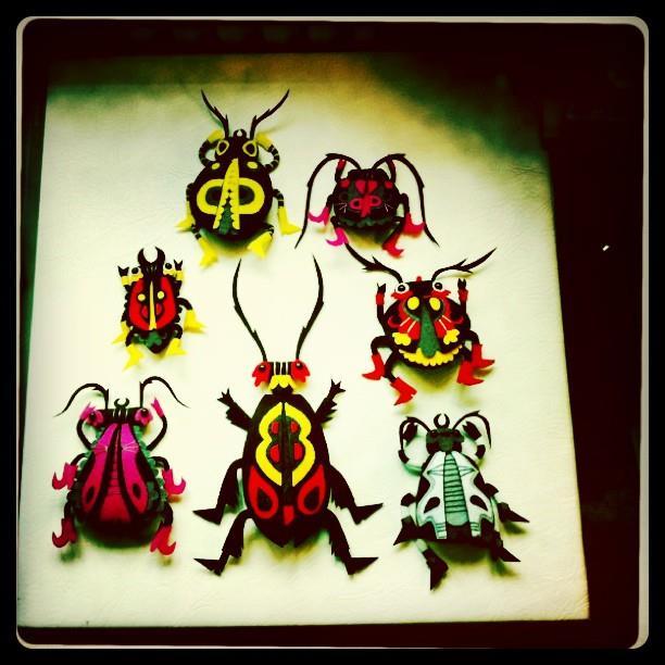 Felt Bugs © Felt Mistress
