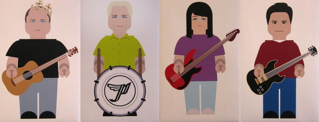 The Pixies by Plasticgod