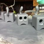 Cubist Moofs by Jason Freeny