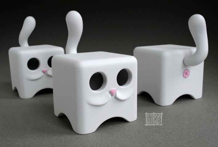 Cubist Moofs by Jason Freeny
