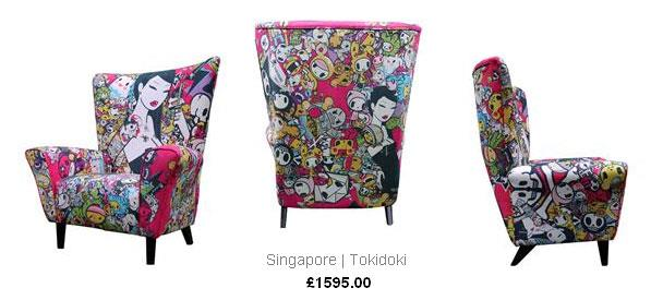 tokidoki wingchair by This is a Limited Edition