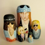 pop culture nesting dolls: Guns-n-Roses