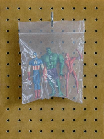 Superhero Bag © Simon Monk