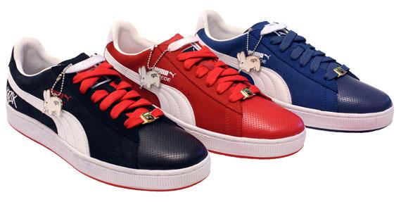 Frank Kozik x PUMA sneakers
