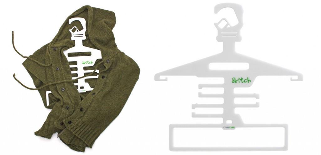 Skitch skeleton hanger by Dede