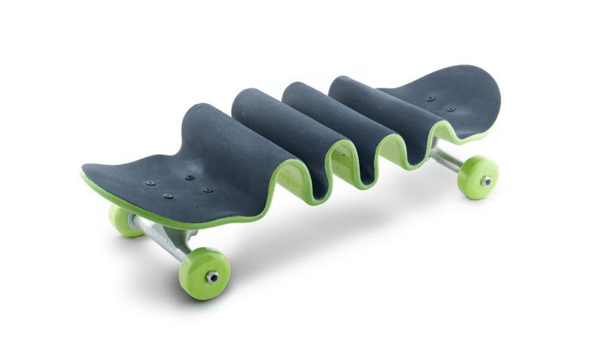 Skateboard Fails by Alex Trochut & Xavier Mañosa