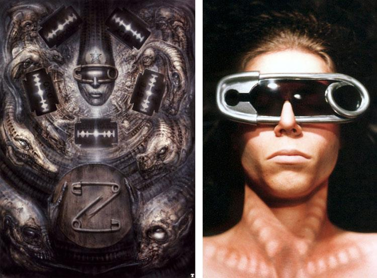 Doktor A's H.R. Giger-inspired Glasses
