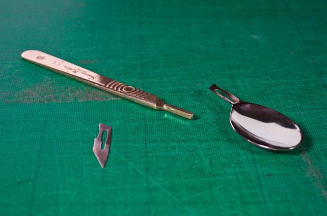 Cutlery by Neill Pitt