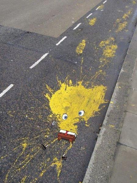 Spongebob Squarepants Roadkill