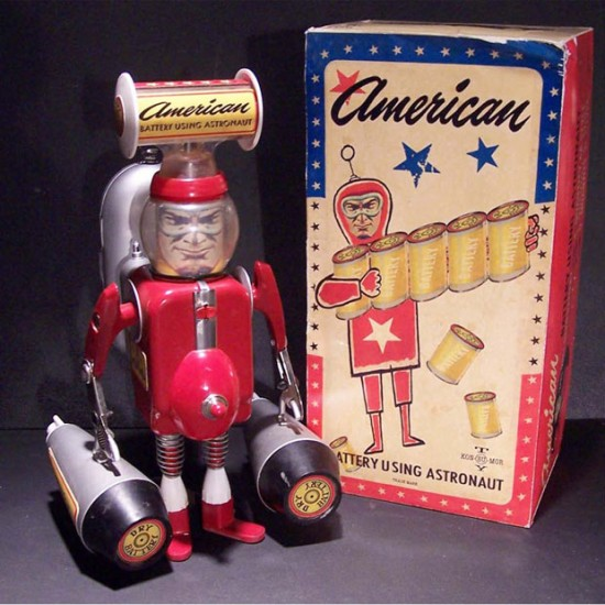 American Battery-Using Astronaut © Randy Regier