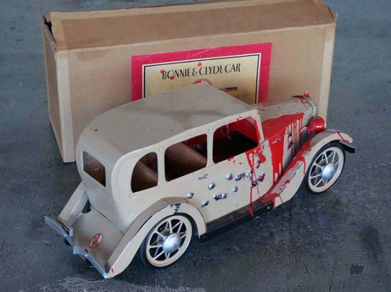 Bonnie and Clyde Car © Randy Regier
