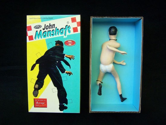 John Manshaft Run-in-Suit Action © Randy Regier