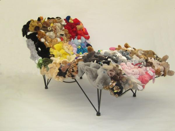 Stuffed Animal Lounger by Don Kennell