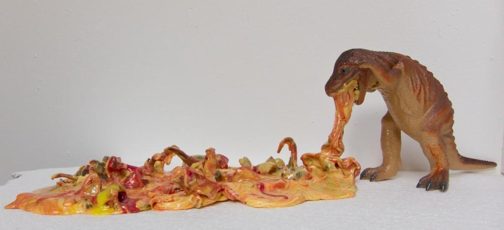 T-Rex Puke by Stefan Gross