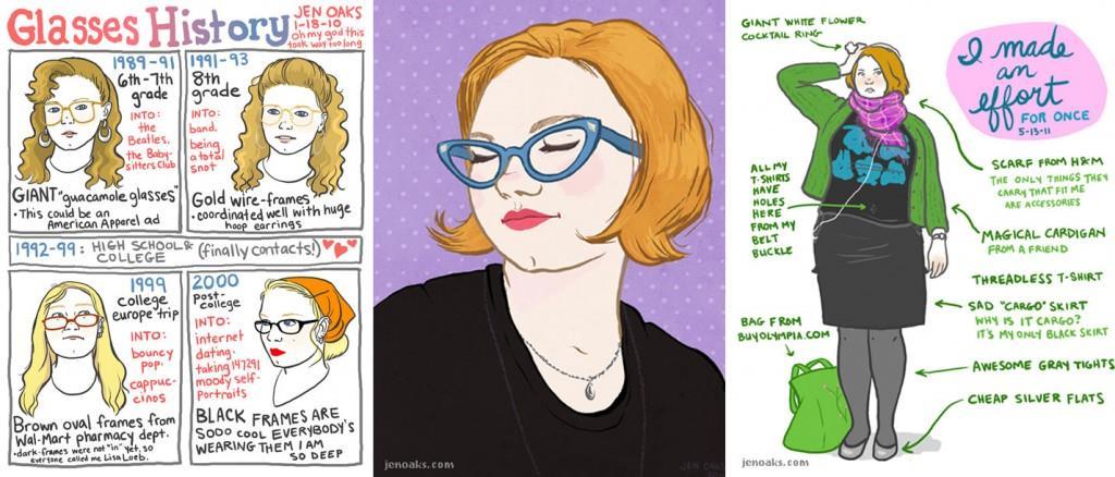 Jen Oaks illustration