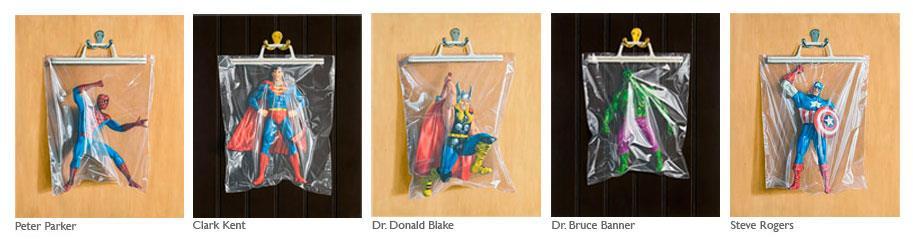 Simon Monk Secret Identity Giclee Prints