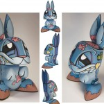 Zombie Bunny by Joe Ledbetter