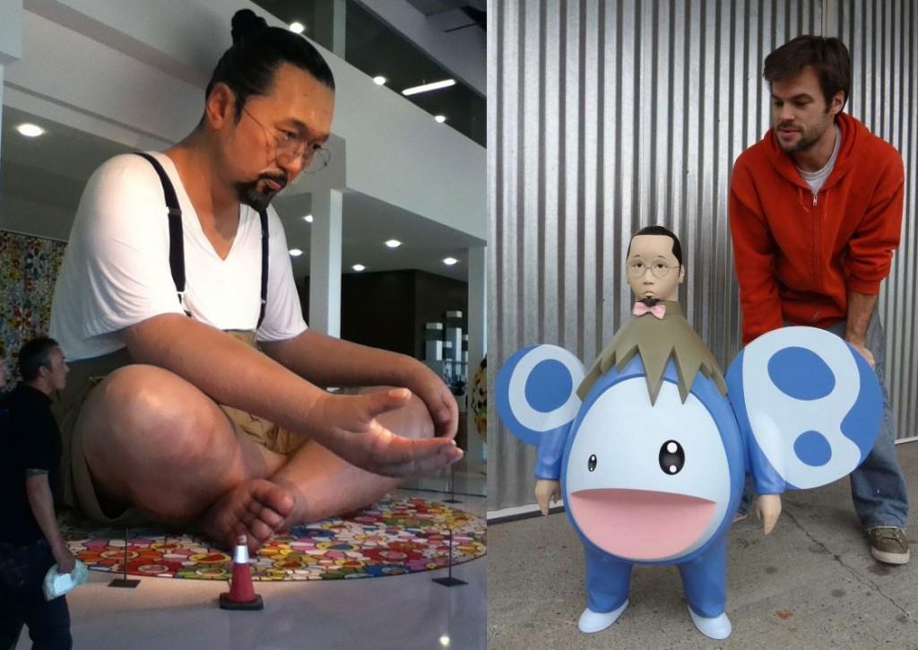Attack of the Giant Takashi Murakamis