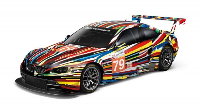 BMW x Jeff Koons scale model art cars