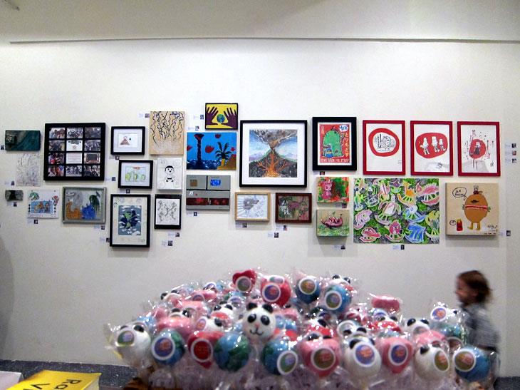 kids art on exhibit in San Francisco