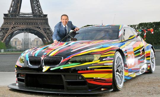 Jeff Koons x BMW Art Car
