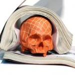 Chalkboard Skulls by Sarah and Joseph Belknap