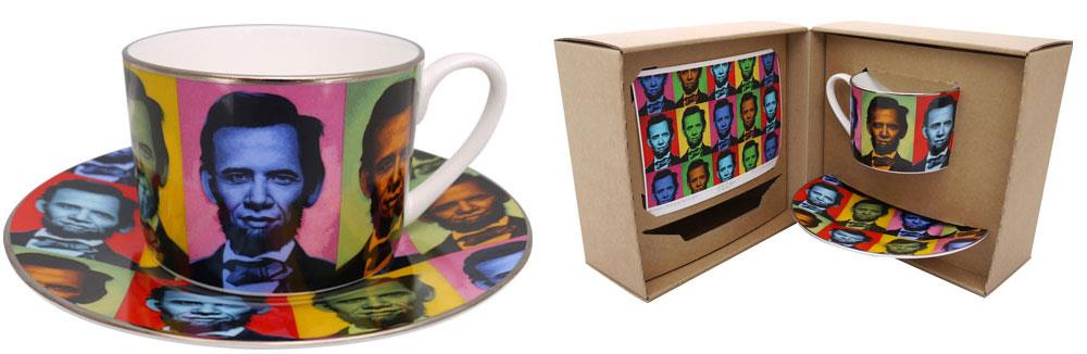 Ron English tea set