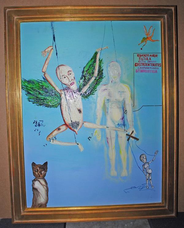 Original Kurt Cobain art