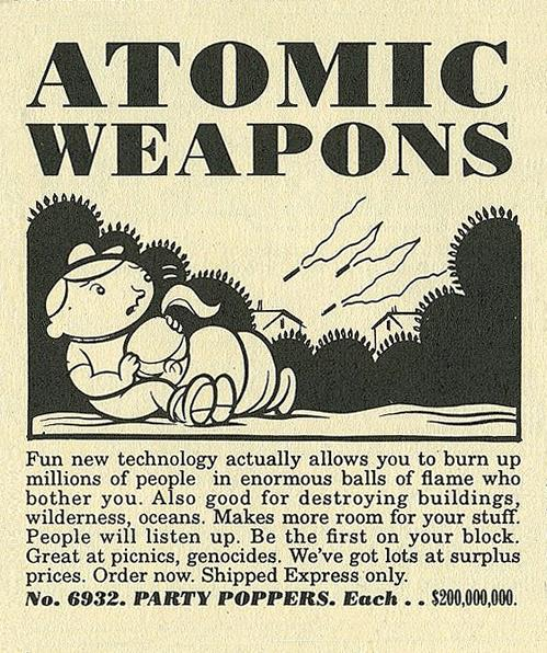 Atomic Weapons Party Poppers