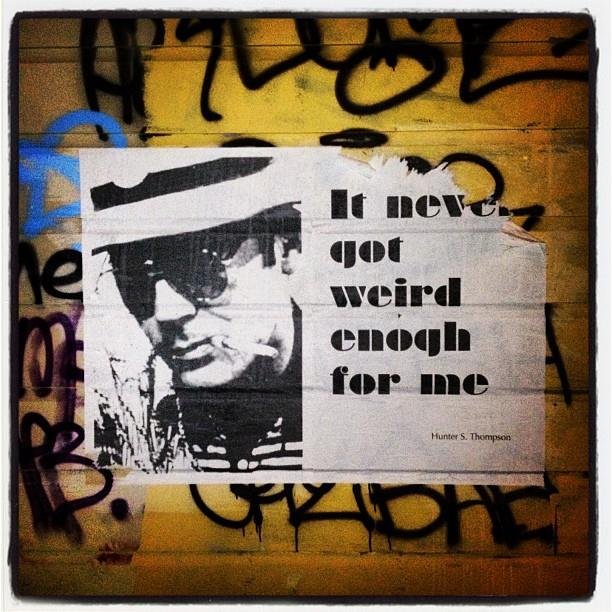 Misspelled street art