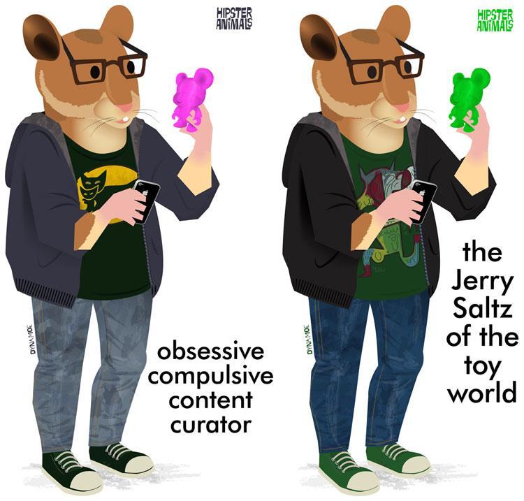 Obsessive Compulsive Content Curator