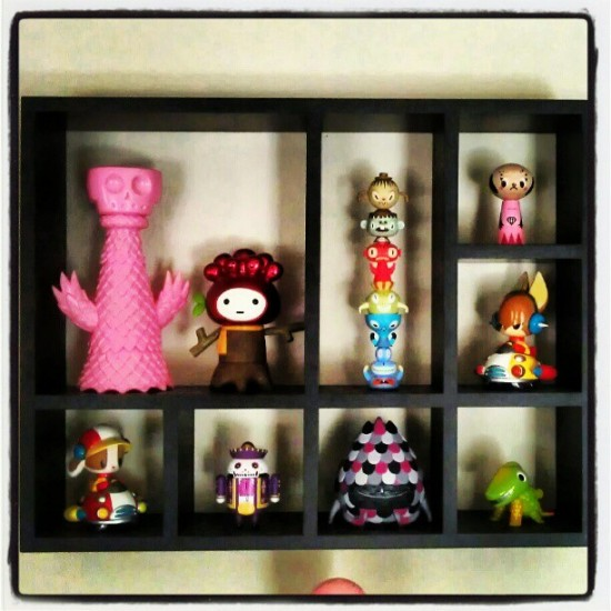 @garyham shows us a glimpse of his toy collection and custom displays.
