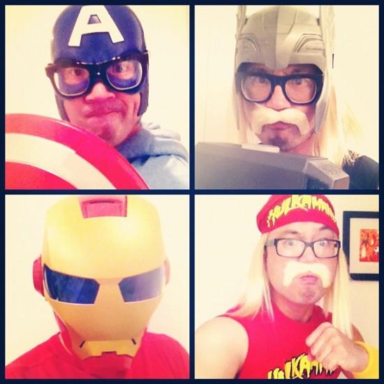 Nobody assembles for the Avengers quite like @jromonkey.