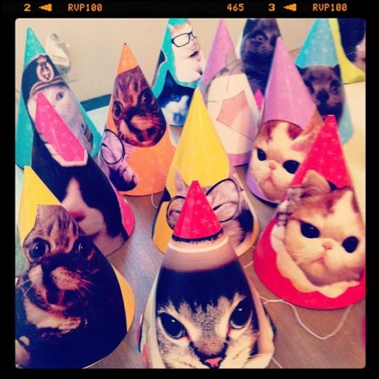 @nagikokiyohara cathats because it was Colette's birthday.