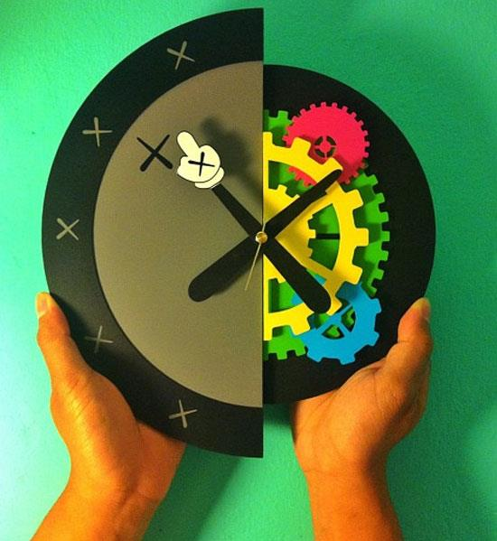 KAWS Clock: Dissection of a Klock, inspired by KAWS